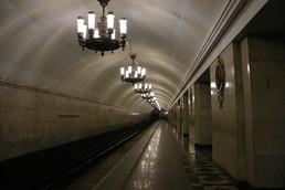 Станция Нарвская, боковой неф