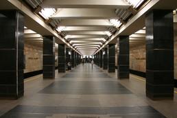 Станция Проспект Ветеранов, общий вид