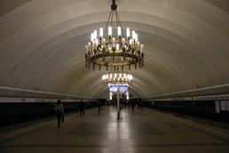 Станция Чёрная речка, общий вид
