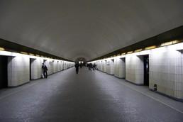 Станция Петроградская, вид до реконструкции