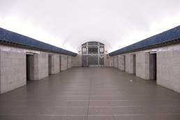Станция Василеостровская, центральный неф