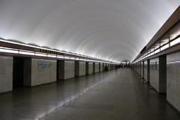 Станция Елизаровская, центральный неф