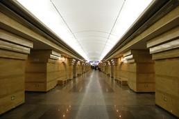 Станция Спасская, центральный неф