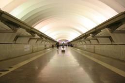 Станция Чкаловская, общий вид