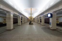 Станция Спортивная, нижний ярус