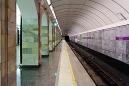 Станция Адмиралтейская 1, боковой неф