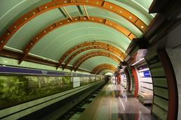 Станция Обводный канал, боковой неф