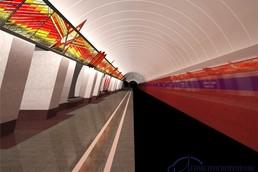 Станция Проспект Славы, проект