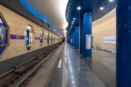 Станция Дунайская, платформа