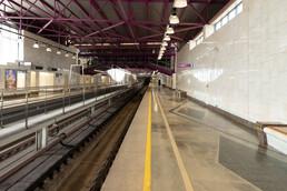 Станция Шушары, платформа
