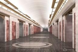 Станция Заставская, проект
