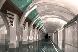 Станция Морской фасад, проект