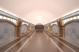 Станция Горный институт, проект