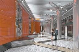 Станция Беговая, проект