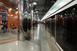Станция Беговая, платформа