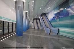 Станция Новокрестовская, проект